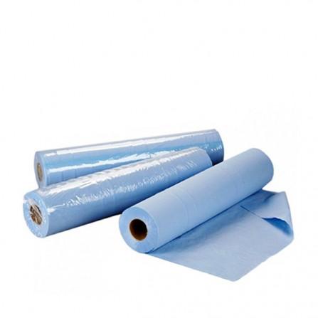 Еднократни чаршафи на ролка TNT – син цвят 60 см или 70 см