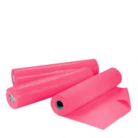 Еднократни чаршафи на ролка TNT – розов цвят 60 см или 70 см