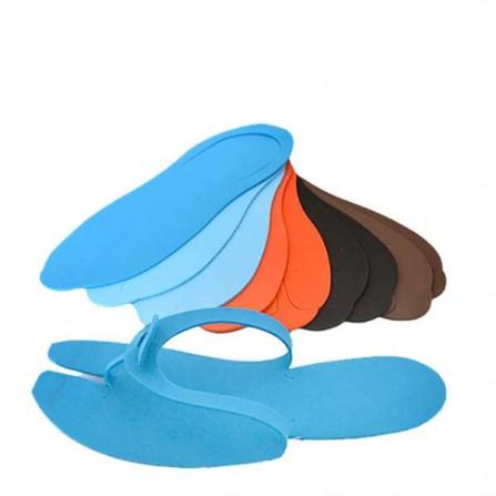 Цветни чехли за педикюр