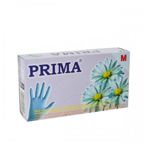 Ръкавици от нитрил, Сини - 100 бр.