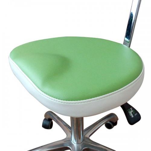 Табуретка за козметични салони, зелена - Модел 3007