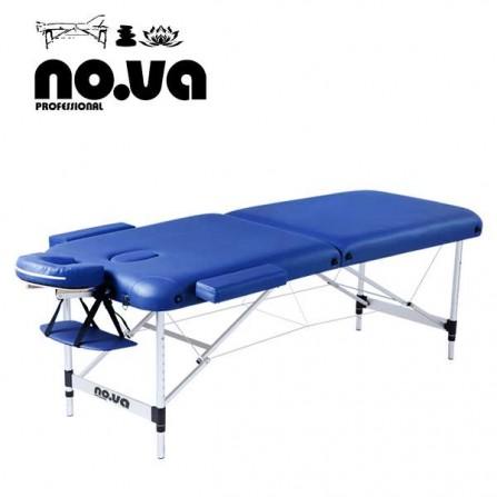 Алуминиева масажна кушетка в синьо - NO.VA Aero NV22