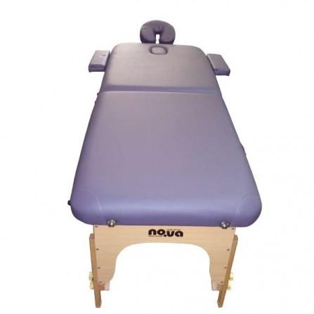 Масажна Кушетка – Дървена, Преносима NO.VA Standart NV22 в лилав цвят