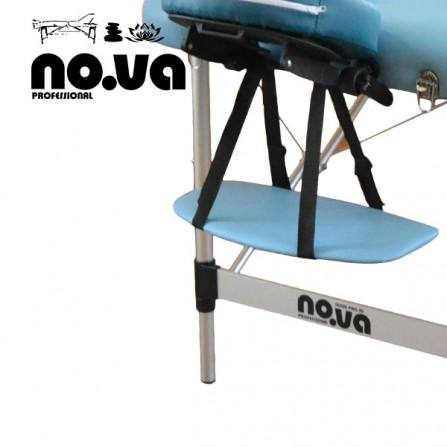 Двусекторна масажна кушетка, алуминиева - NO.VA Aero NV22