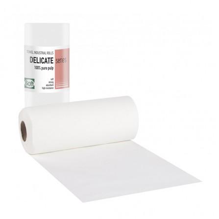 Хартиени двупластови кърпи на ролка Softcare