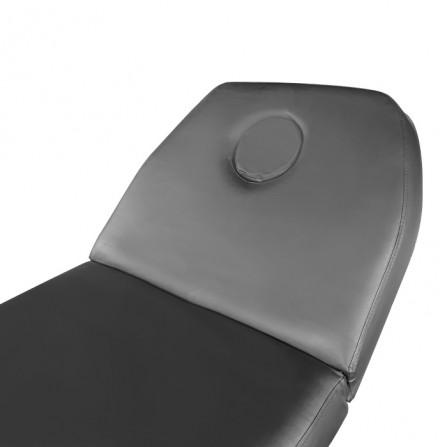Масажно легло с повдигане KL260, ширина 70 см - черно