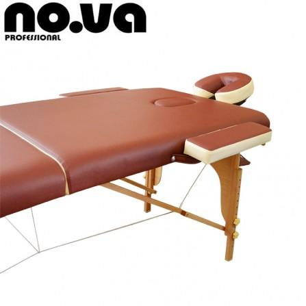 Преносимо легло за масаж от дърво модел MLW208