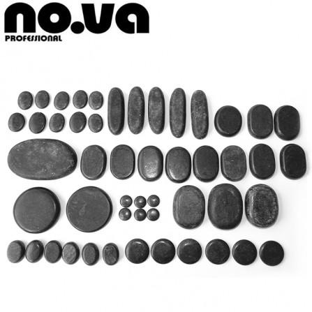 Комплект с Базалтови Вулканични Камъни За Масаж – 50 бр.