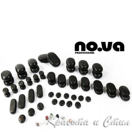 Комплект с 64 бр. Базалтови Вулканични Камъни За Масаж